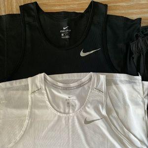 Nike Running Tank Top - Lot of 3 - Large - Mint